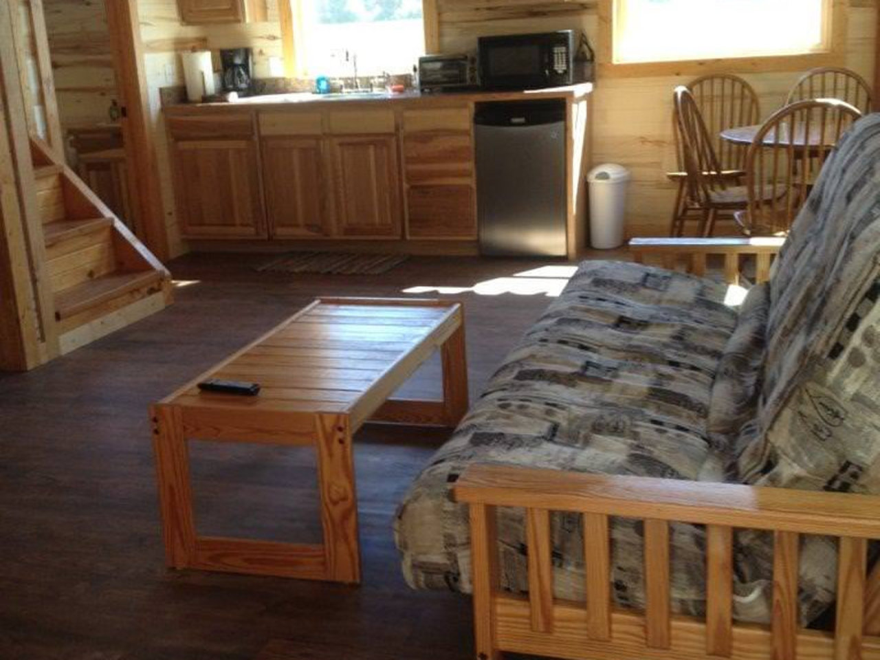 Inside Granite Cabin (furnished).