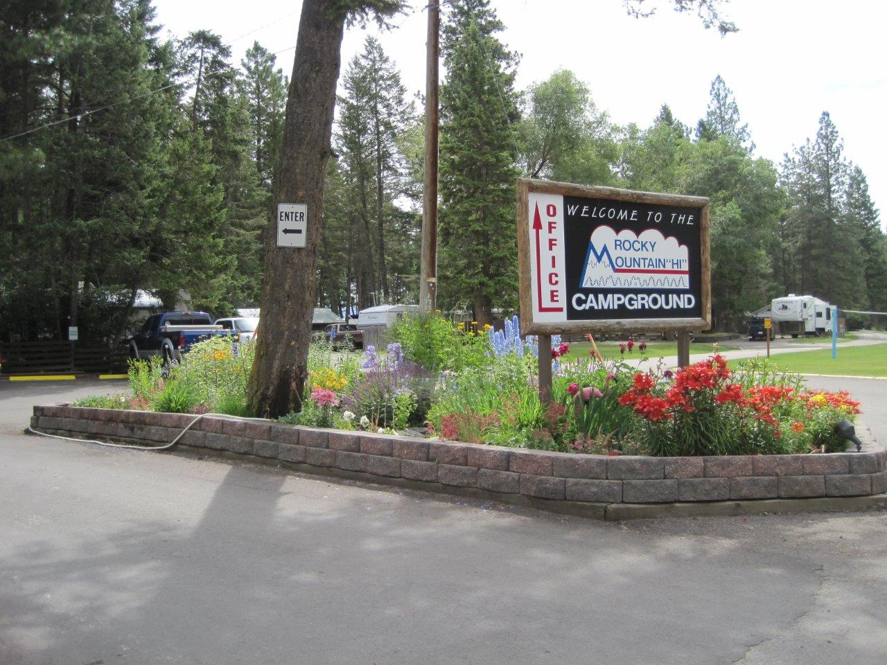 Rocky Mountain 'HI' Campground and RV Park - Flathead Valley
